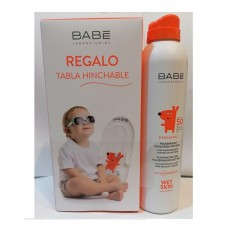 Babé Pediatric Fotoprotetor Spray Wet Skin  SPF50+  200ml  Oferta Prancha insuflável