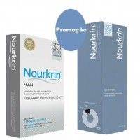Nourkrin pack 60 comprimidos Homem+ Shampô 150 ml
