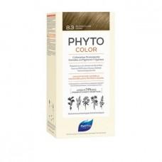 Phyto Color Coloração Permanente 8.3 Louro claro dourado
