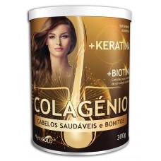 PhytoGold Colagénio + Keratina + Biotina 300g