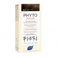 Phyto Color Coloração Permanente 5.3 Castanho Escuro