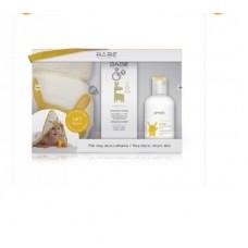 Babe Kit Atopic - Pele seca e muito seca ou atopic- Creme Emoliente 200ml+ Sabonete de oleo 200ml Oferta Toalha Bebe de algodão