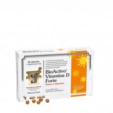 BioActivo Vitamina D Forte 80 cápsulas
