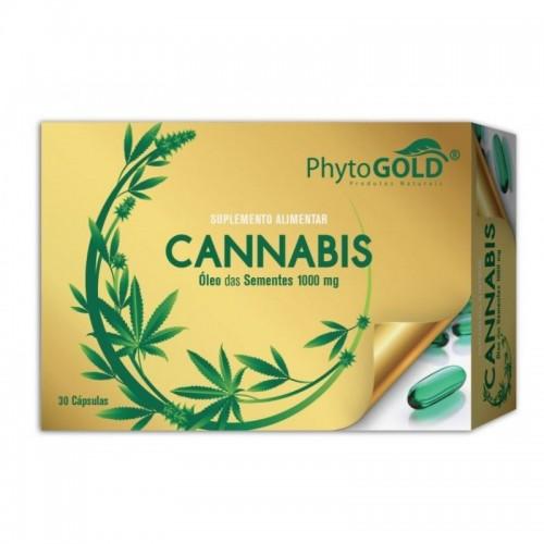 Phytogold Cannabis  30 cápsulas