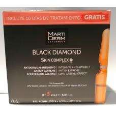 MartiDerm Black Diamond Skin Complex 30+5 ampolas grátis