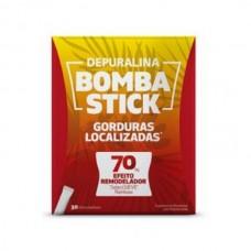 Depuralina Bomba 30 Sticks Gorduras localizadas 70 % Efeito Remodelador
