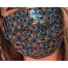 Mascara Social Certificada Nível 2 Gio Rodrigues -  cor: portuguese tile
