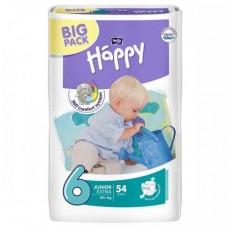 Fralda Happy Nº 6 ( 16+ kg) 54 unidades