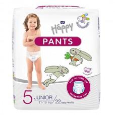Háppy Pants 5 Junior 11-18kg  22 Unidades Fralda Cueca