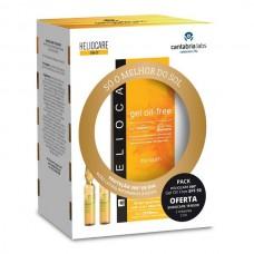 Heliocare 360º gel oil free SPF 50+ 50 ml -Pack com oferta 2 ampolas Endocare tensor