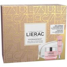 Lierac Coffret Hydragenist Creme Hidratante Oxigenante 50ml + Gel Hidra-Alisador Contorno de Olhos 15ml