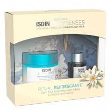 Isdin Bodysenses Ritual Refrescante Creme Corporal de Flor Edelweiss dos Alpes 250ml e Difusor Aromático
