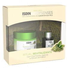 Isdin Bodysenses Ritual Revitalizante Creme Corporal de Chã Matcha 250ml e Difusor Aromático