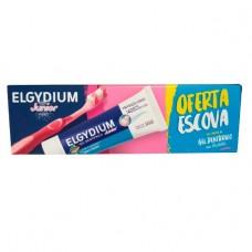 Elgydium Junior Pack Gel Dentífrico Sabor Bubble Oferta Escova 7/12 Anos