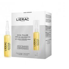 Lierac Cica-Filler Sérum antirrugas Reparador 3x10ml -30 dias de tratamento