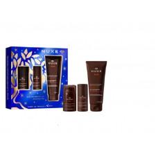 Nuxe Men Best Seller 2021 Gel de Banho Multiusos 200ml + Desodorizante Roll On Proteção 24H 50ml + Gel Multifunções Hidratante 50ml Coffret