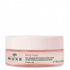 Nuxe Very Rose Máscara Gel De Limpeza Ultra Fresca 150ml