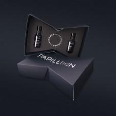 Papillon coffret Silver- Anti-Age Finest Tailored Cream 30 ml+ Serum Skin Beard 30 ml