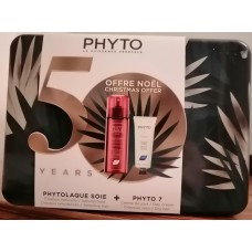 Phyto Coffret Noel - Phytolaque soie 100ml + phyto 7 plantas  50ml
