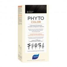 Phyto Color Coloração Permanente 3 Castanho Escuro
