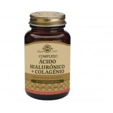Solgar Àcido Hialurónico + colgénio30 comp