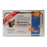 BioActivo Vitamina D 240 cápsulas Embalagem Económica