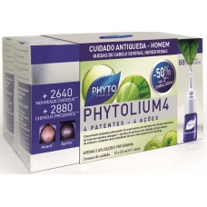 Phyto Phytolium 4 - 12Ampolas - 50% Desconto na 2º Embalagem