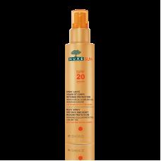 Nuxe Sun Spray Lácteo Rosto  e Corpo  FPS 20 150mL