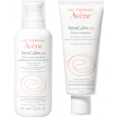 Avène XeraCalm A.D Óleo de Limpeza (400mL) + Bálsamo Relipidante (200mL)